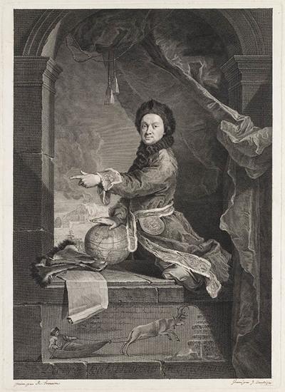 Portret van Pierre-Louis Moreau de Maupertuis