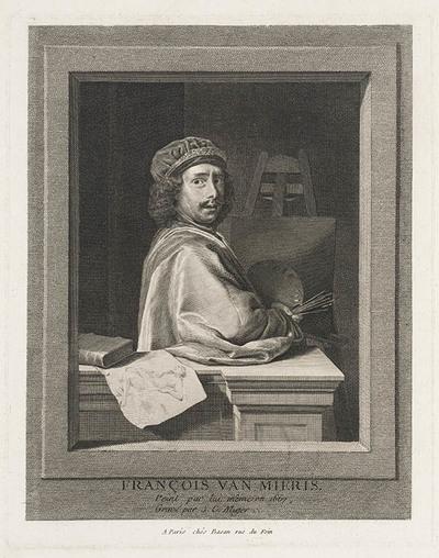 Portret Frans van Mieris