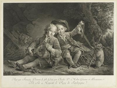 De kinderen van de prins van Turenne