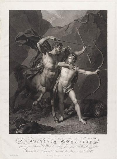 De opvoeding van Achilles