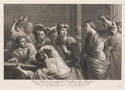 Verdrijving van de wisselaars uit de Tempel