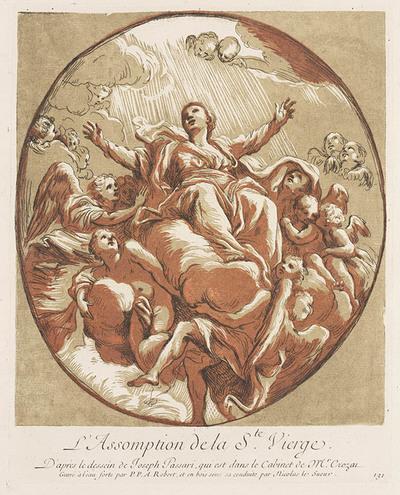 Image from object titled Maria ten hemel opgenomen