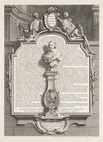grafschrift kardinaal de Richelieu
