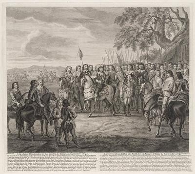 Declaratie Charles I aan zijn leger