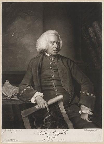 Portret John Boydell
