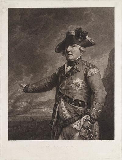Portret George Augustus Elliot, Lord Heathfield