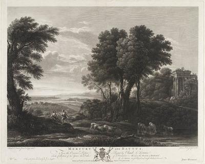 Mercurius en Battus