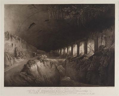 Ruïne catacomben villa Tivoli