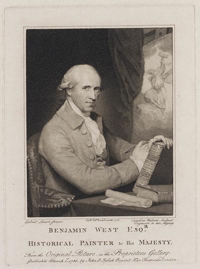 Portret Benjamin West