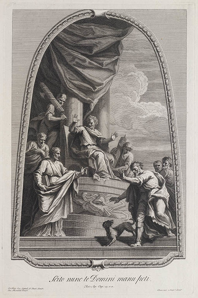 Image from object titled Saulus bij Sergius Paulus, proconsul van Cyprus