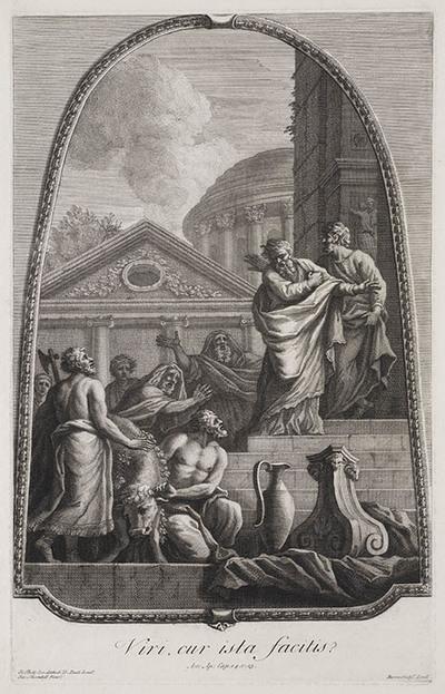 Image from object titled Paulus en Barnabas te Lystra