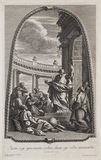 Paulus op de Areopagus