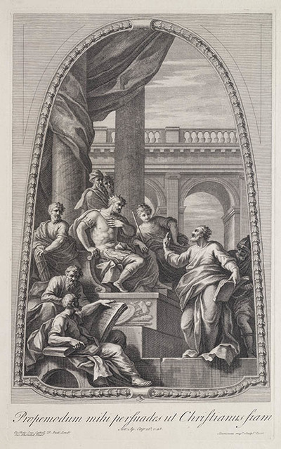 Image from object titled Paulus voor Agrippa