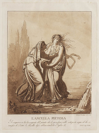 Le Avventure di Saffo: L'ancella pietosa