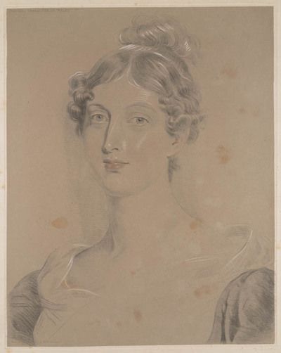 Lawrence's finest studies...: prinses Charlotte van Wales