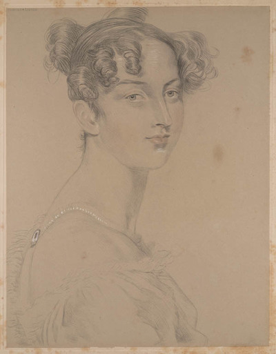 Image from object titled Lawrence's finest studies...: prinses Lieven