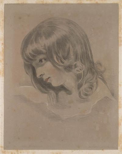 Lawrence's finest studies...: miss Boucheret