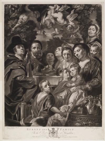 Rubens en zijn familie