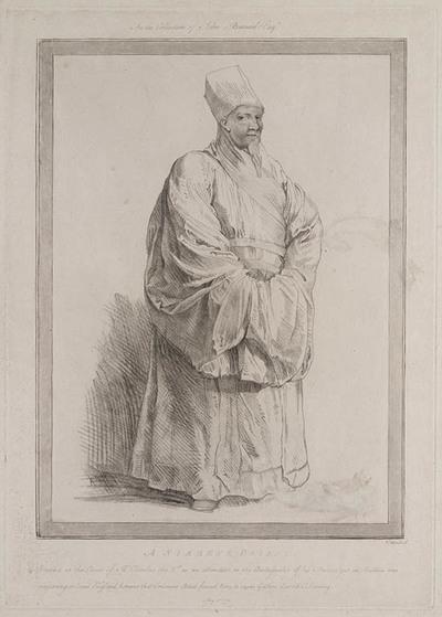 Portret van een Siamese Priester