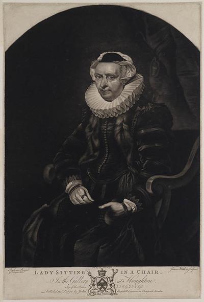 Vrouw op een stoel