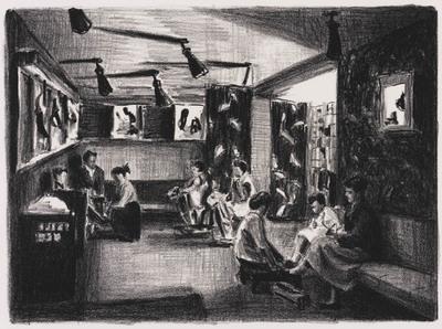 Schoenenwinkel in de jaren 1950