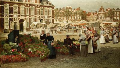 Bloemenmarkt in Den Haag