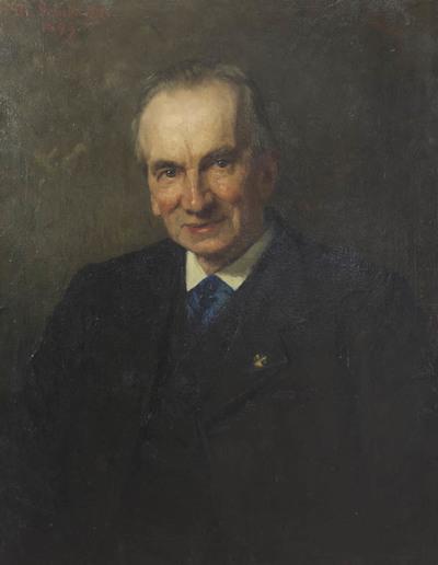 Portret Frederik Willem van Eeden