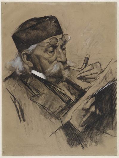 Portret van de heer Van Duyl