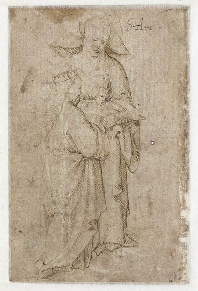 Maria en Kind met de heilige Anna
