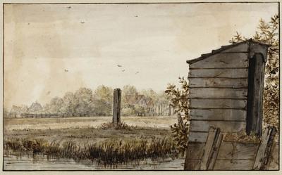 Hollands weide-landschap