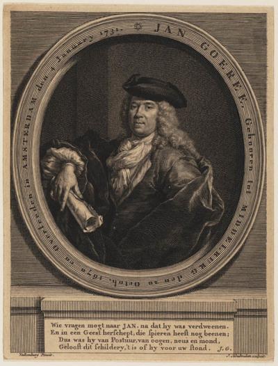 Portret Jan Goeree