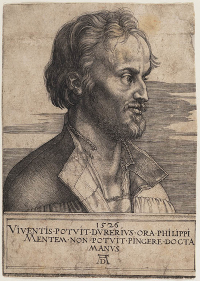 Image from object titled Portret Philip Melanchthon