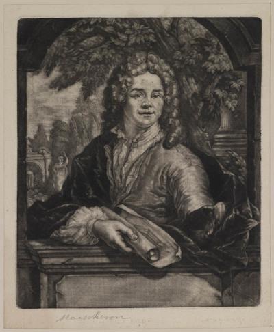Portret Iscaac Moucheron