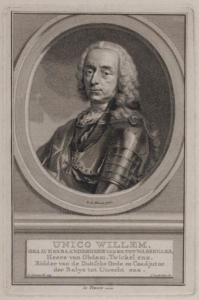 Portret Unico Willem van Wassenaar