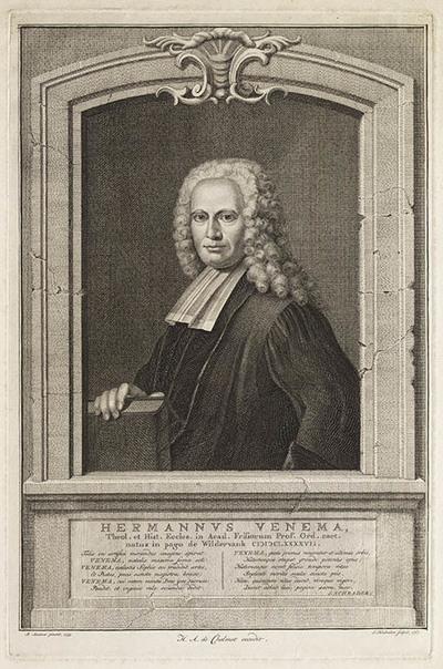 Portret (Hermannus Venema)