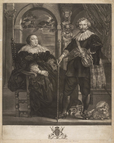 Portret Frederik-Henderik & Amalia van Solms