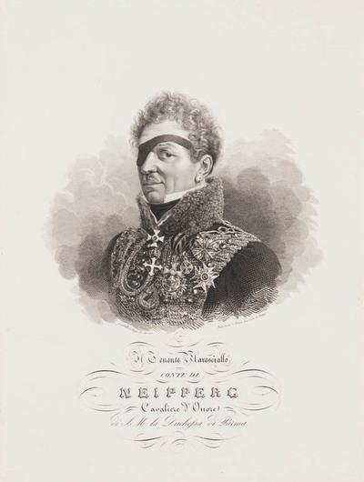 Portret hertog van Neipperg