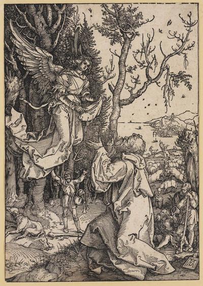 Image from object titled Joachim en de engel
