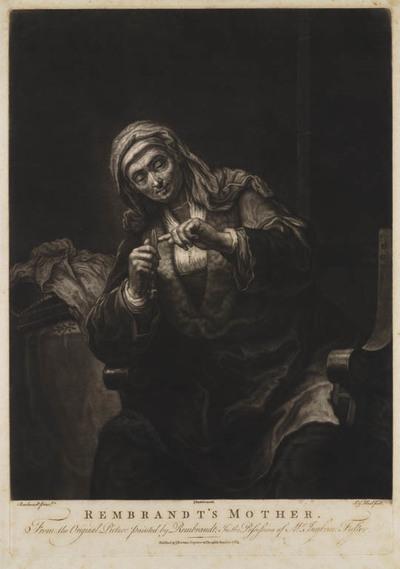 Moeder Rembrandt