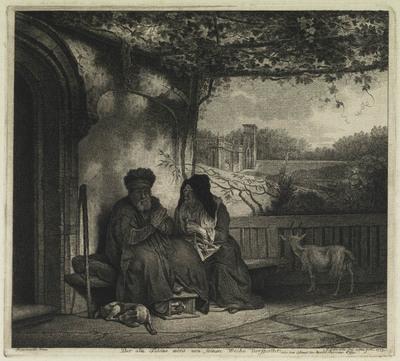 Tobias en zijn vrouw