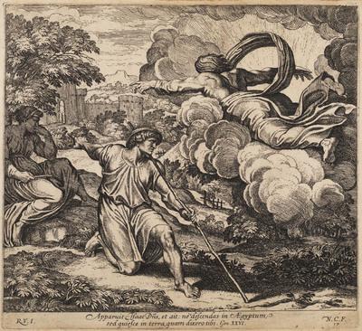 Isaac krijgt aanwijzing van God