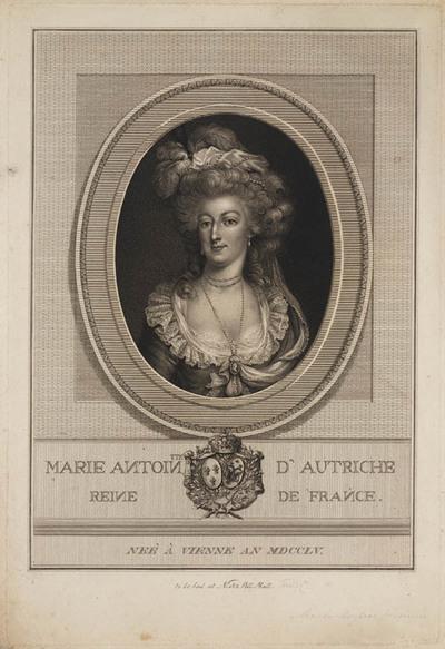 Portret Marie Antoinette