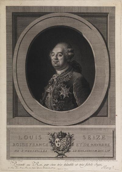 Portret Louis XVI