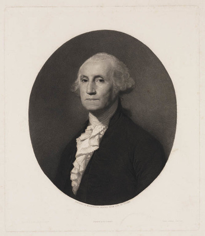 Portret George Washington