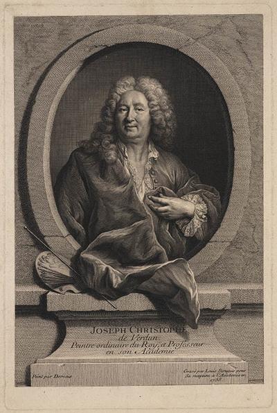 Portret van Joseph Christophe de Verdun.