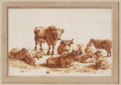 Rustend vee