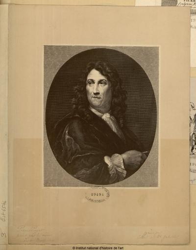 Pierre Puget, peint par lui-même, Musée de Marseille; Pierre Puget, peint par lui-même, Musée de Marseille : (portrait)