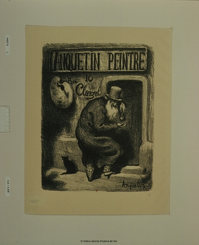 Anquetin, peintre, 10 rue Clauzel