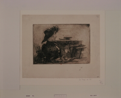 La Tasse de thé (épreuve b)