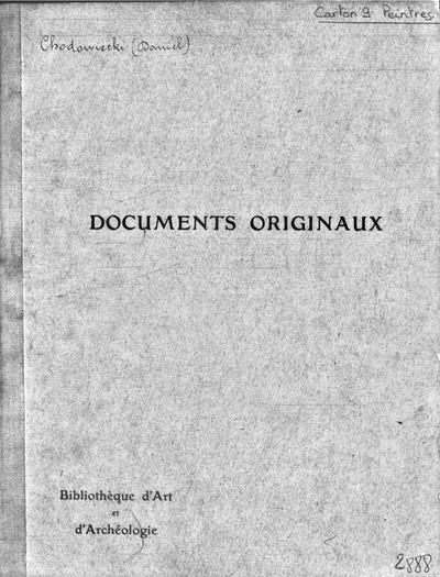 Image from object titled Autographes, Carton 9 : Peintres Cho-Cor